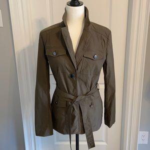 Le Chateau khaki military style jacket. Medium